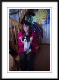 Little pup with Ruth...