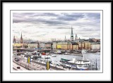 View to the Old Town,Stockholm...