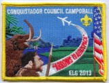 Council Camporall at Ned Houk Park