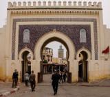 Bab Bou Jeloud Gate, Fes