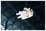 Astronaut floating away