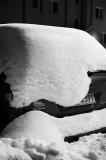 Machine Under Snow