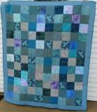 4 Patch Batik Blue 2013