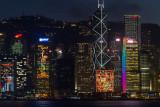 Central Skyline at Night