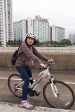 my rented Giant bicycle
