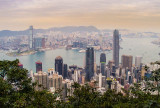 Hong Kong and Kowloon from Above