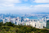 Hong Kong seen from Jardine's Lookout