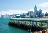 Star Ferry overlooking Wan Chai
