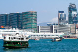 Busy Victoria Harbour