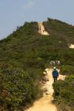 Trekking along Dragon's Back