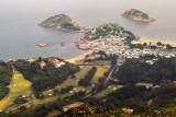 Shek O Village by the sea