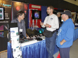 Tim Puckett and Apogee booth