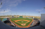 Game #7: Indians vs. Reds, 3/17/13, Goodyear Ballpark