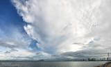 Storm over Penang