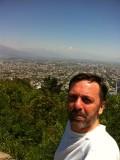 subiendo a San Cristóbal, a 34ºC!