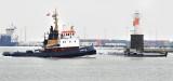 Winter in the harbour / Vinter i havnen