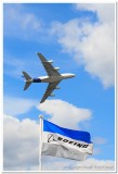 Airbus A-380 Over Boeing Flag