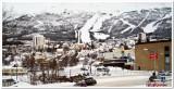 Narvik - flanked by ski runs