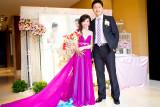 新娘Teresa於國賓飯店結婚宴客新秘造型記錄