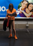 No Pants Subway Ride Barcelona 2013