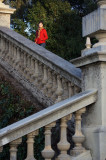 escaleras de Montjuic