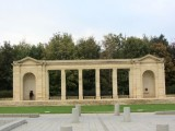 this is one of many British military cemeteries in Normandy