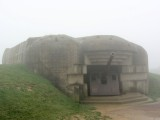 ...where a battery of several guns rises out of the mist