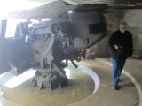 Tom stands over 6ft; these guns were huge