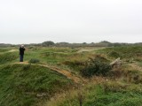 we visit Omaha Beach and then walk the battle-scarred bluff above Pointe du Hoc