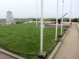 the Utah Beach memorial stands on the site of a captured gun placement, turned Allied communications post
