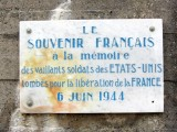 everywhere in Normandy, French gratitude to American and Allied troops was and remains very strong