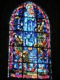 the days of battle are remembered in the church windows