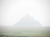 still too foggy to see Mont St. Michel