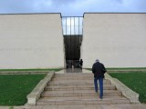 we'll end our trip at the Caen Memorial and Peace Center