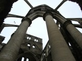...and used as a stone quarry in the 19th-c., slowly becoming a skeleton