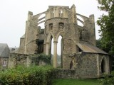 then in the 1950s a couple bought the abbey and land, and started preservation...