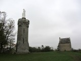 ...on which a few stone structures look out over the bay and farmlands