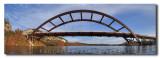 Kayaking at the 360 Bridge Austin Texas Panorama