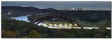 Pennybacker Bridge at Night - Austin, Texas - Panorama