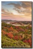 360 Bridge - Autumn Colors at Pennybacker Bridge