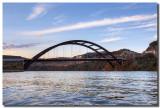 Pennybacker Bridge from the River