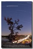 Star Trails over Pennybacker Bridge