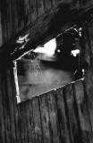 Old Barn Door, Iowa, 1973