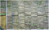 oude kaart van Zuid Limburg