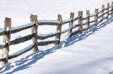 Knox Farm Winter Fence