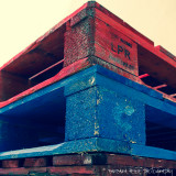 colourful pallets