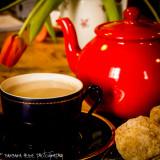 Tea and fresh Scones