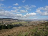 A steep climb out of Crynant led us to this fantastic view