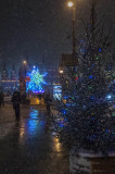 A Winter Night's walk in Moscow Center
