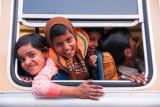 kids in bus